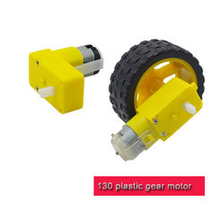 China Lightweight Plastic Gear Motor Different Reduction Ratio T130 DC Motor  For Kids DIY Toys supplier