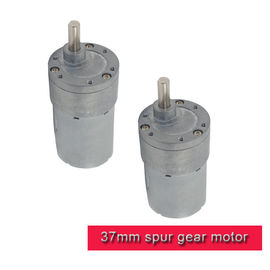 China Offset Shaft DC Spur Gear Motor High Torque Mini 12v 24v 24v DC Motor With Gearbox supplier