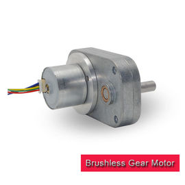 China 38GF2418 Small Brushless DC Motor , L Shape Spur Gearbox 12v Brushless Motor supplier
