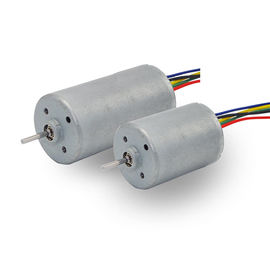 6v - 24v Brushless DC Motor , Small BLDC Motor For Electric Curtains