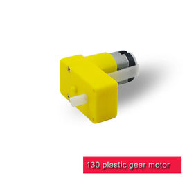 L Shape DC Plastic Gear Motor  Low Noise 6v 12v Robot Gear Motors ISO 9001 Certified