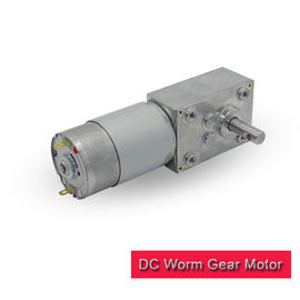 12v DC Worm Gear Motor 24v 5-200 RPM Speed Range With RS 555 DC Motor