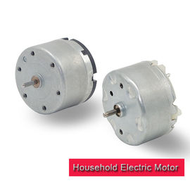 Low Noise RF 550 Electric Motor , 6v 12v Brush Mini Electric Motor For Household Appliance