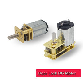 High Precision Door Lock Motor N20 Small DC Gear Motor With Metal Gearbox