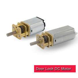 6v 12 Volt DC Motor High Torque , Mini Metal Square Gear Motor 13mm Diameter