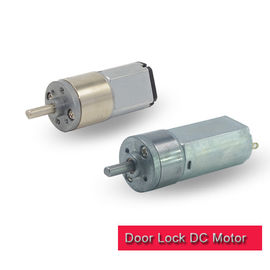 Car Door Lock Motor Metal Round Gearbox 3v 6v 12v Brushed DC Motor RoHS Approved