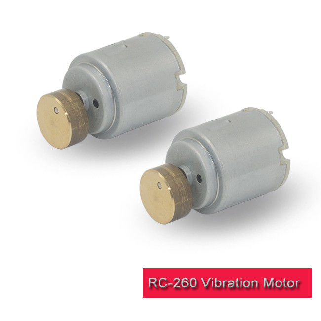 Carbon Brush DC Vibration Motor RC-260SA-Z For Massage Bed RoHS Approved