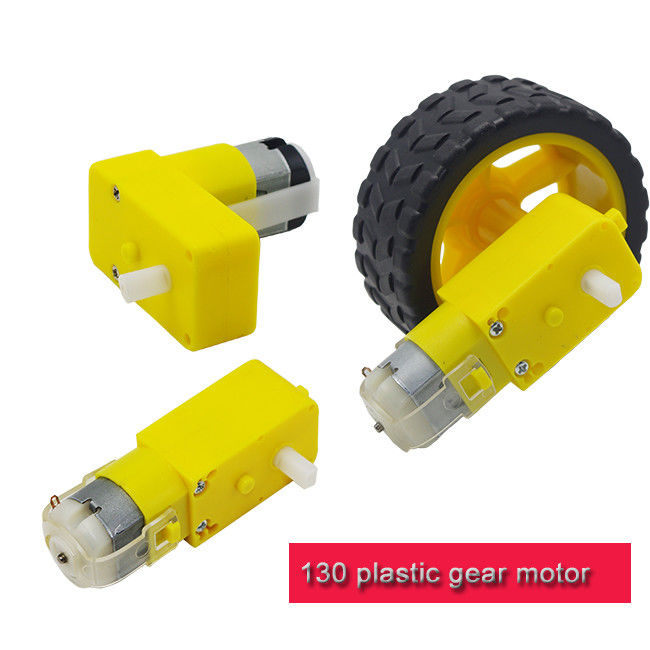 Lightweight Plastic Gear Motor Different Reduction Ratio T130 DC Motor  For Kids DIY Toys